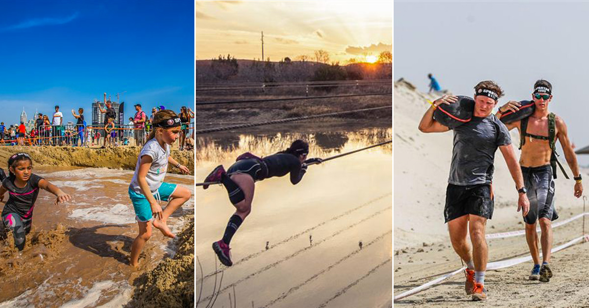 The first ever Spartan Race Middle East Championship is ...