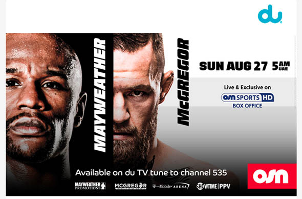 Here's how to watch the Mayweather vs McGregor fight at home for
