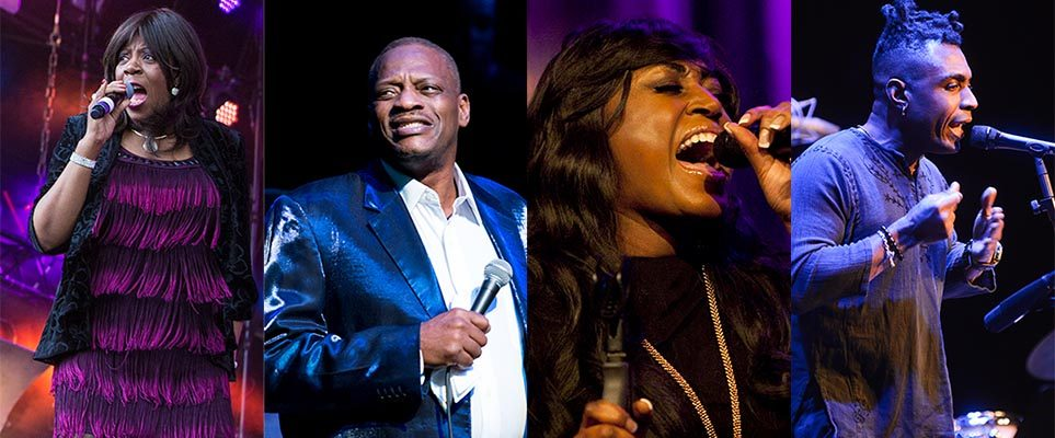 Four massive names in Soul music are coming to Dubai in October
