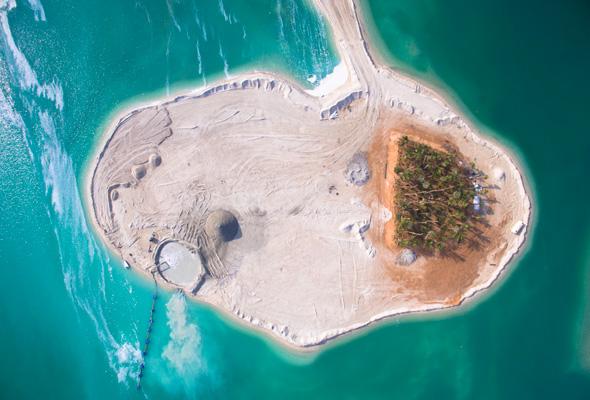 on dubai islands map