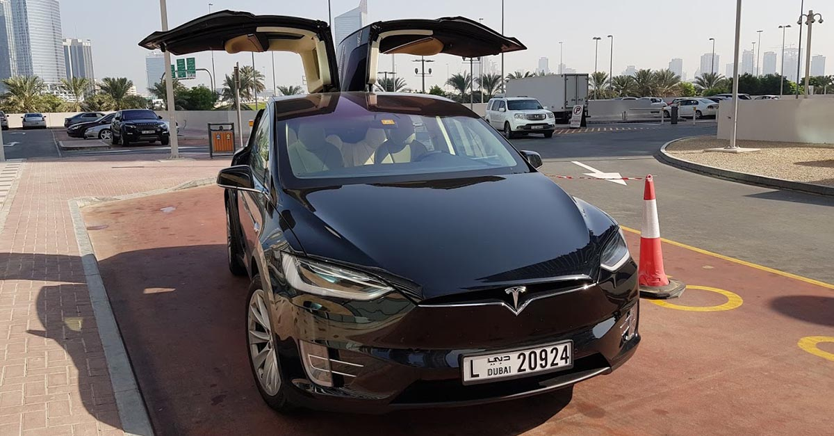 Hail a Tesla using Uber for not much more than the cost of a