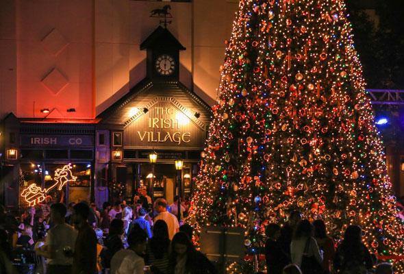 Six Christmas Tree Lighting Ceremonies Hening In Dubai