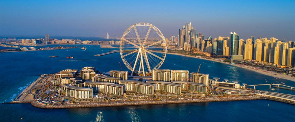 The Ain Dubai observation wheel has come full circle
