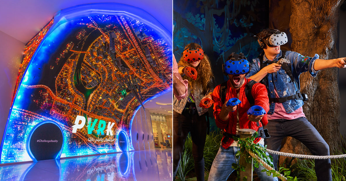 Virtual Reality Theme Park Opens In Dubai Mall What S On