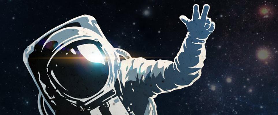 astronaut in the spacecraft - photo #33