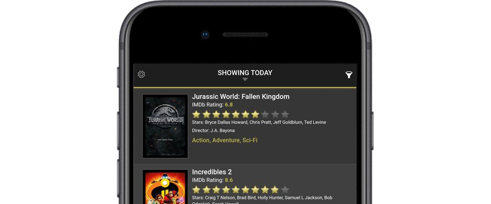 App of the Week: Cinema UAE - What's On Dubai