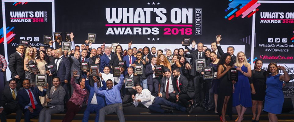 What's On Abu Dhabi Awards 2018: Here are the winners