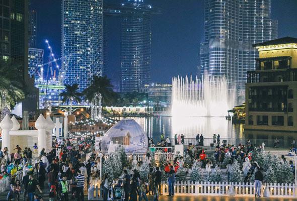 Snow Park Dubai Downtown Christmas 2021 Five Free Festive Things To Do In Dubai This Weekend