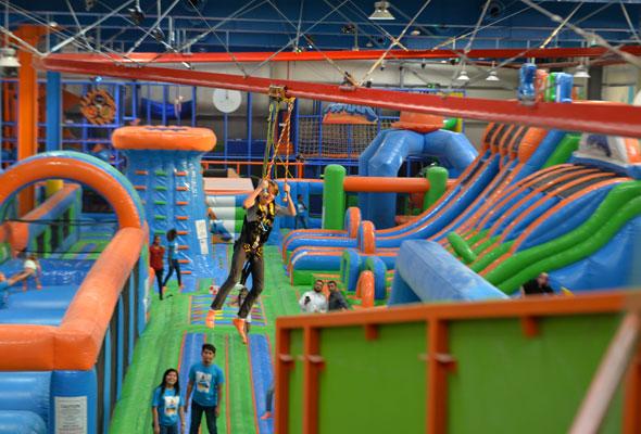 A Huge New Indoor Adventure Park Is Now Open In Dubai