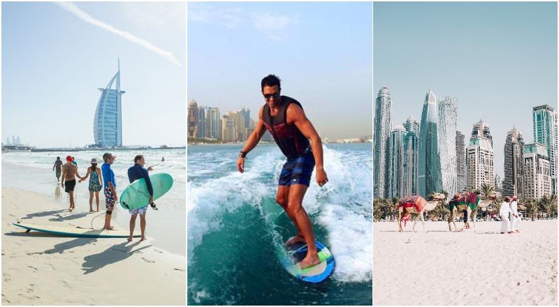 best free beaches Dubai