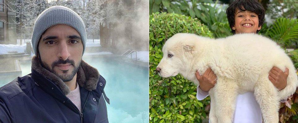 Sheikh Hamdan has a new puppy called Tiny - What's On Dubai