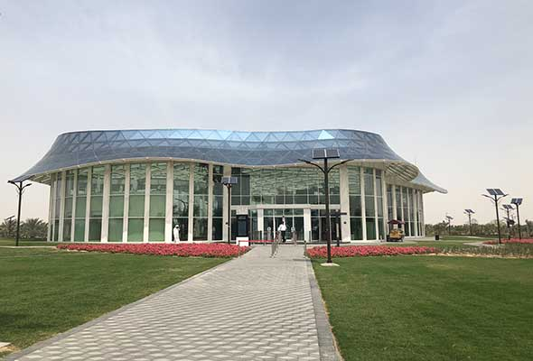 The Beautiful Quranic Park In Dubai Is Now Open What S On Dubai