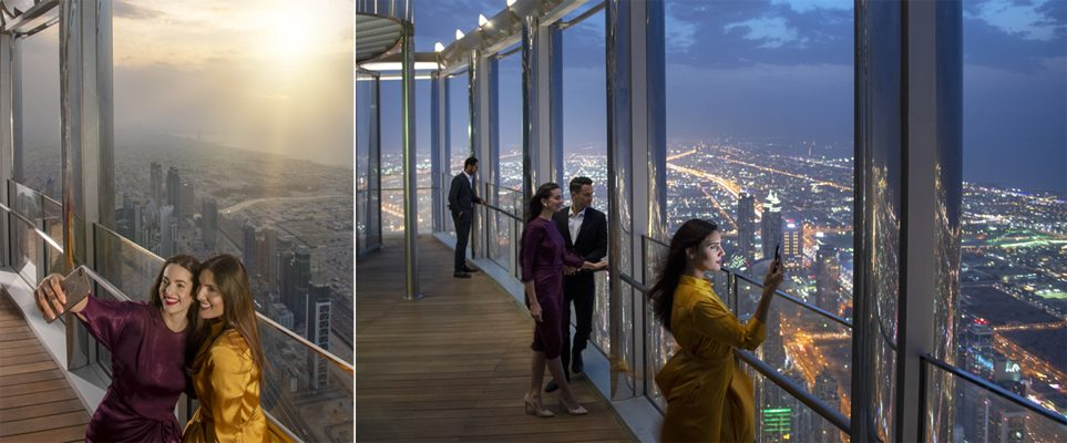 The world's highest lounge is now open on 152nd floor of