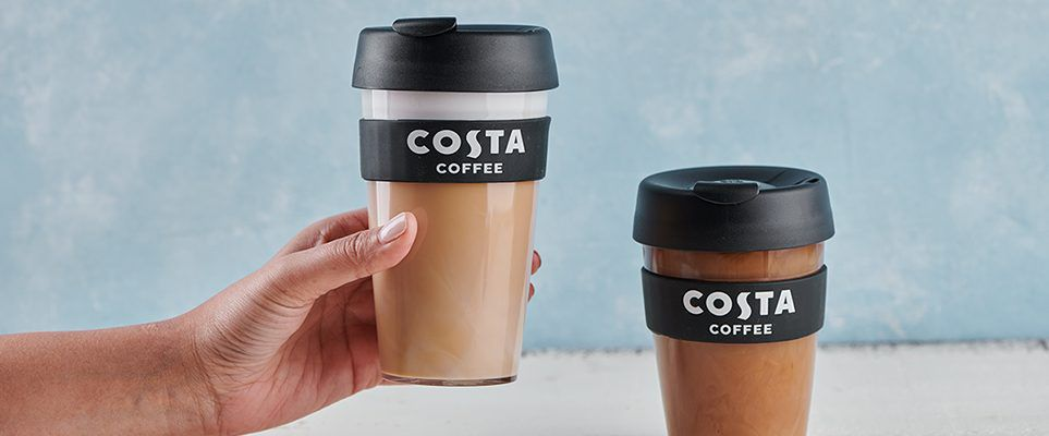 By Enjoy Costa Free Coffee Reusable To Taking On Cup A Your 8Xnk0wOP