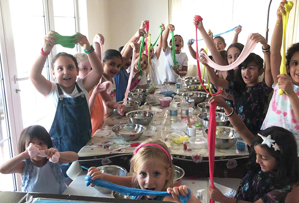 Slime Parties Making Your Own Has Become A Really Popular Kids Activity In The Last Couple Of Years And Lets Face It Most Love To Get Their
