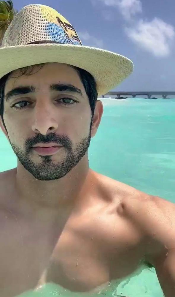 Sheikh Hamdan Shares Snaps From Beautiful Vacation In The Maldives