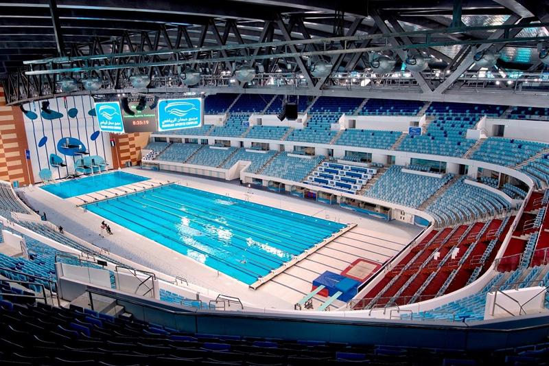 hamdan sports complex indoor pool dubai