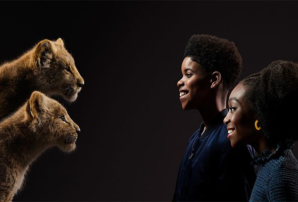 The Lion King Stars Face Their Characters In Stunning New