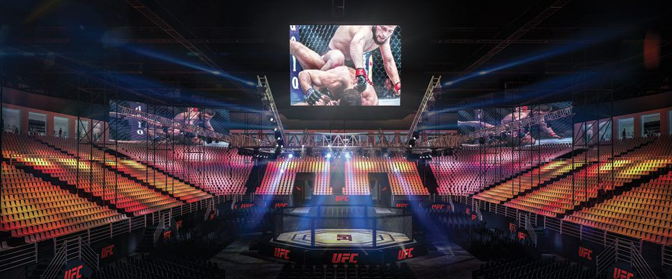 Here's what the purpose-built UFC 242 arena in Abu Dhabi