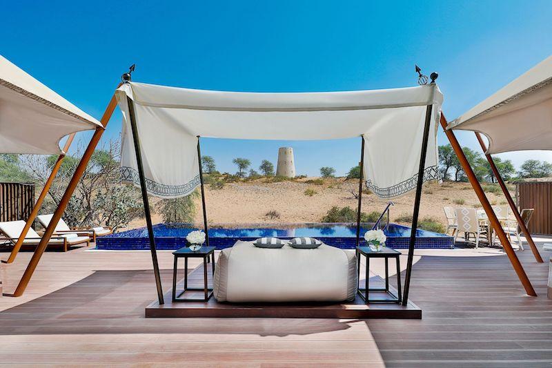 UAE desert resorts ritz-carlton