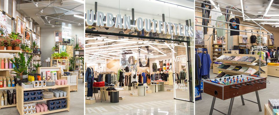 Here's what it's like inside the first Urban Outfitters
