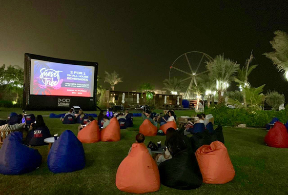 3 New Outdoor Cinemas To Check Out In Dubai This Winter