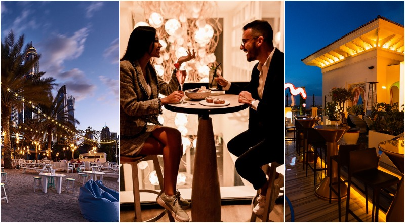 Romantic restaurants in Dubai