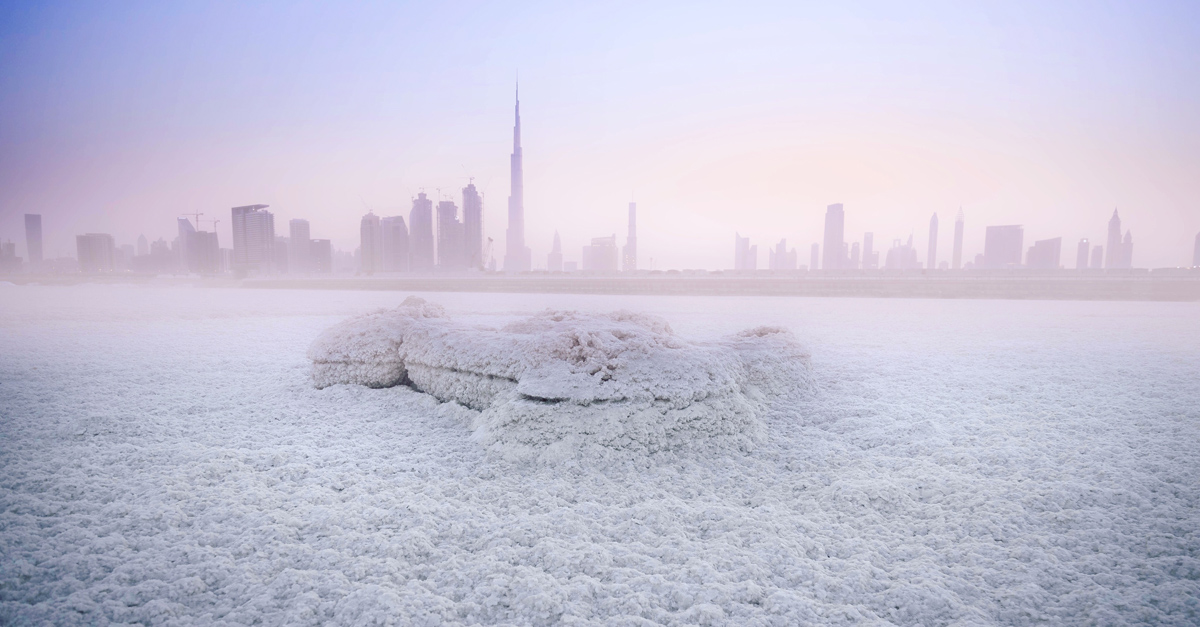 coldest winter in the UAE