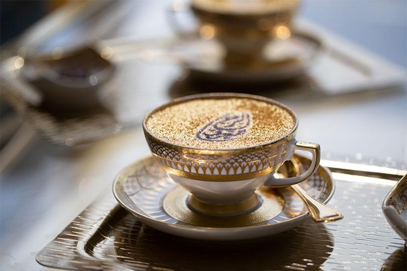 golden cappucino