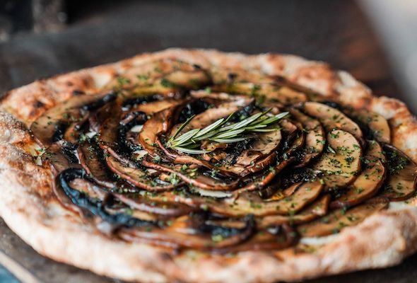 pizzetta portobello truffle pizza