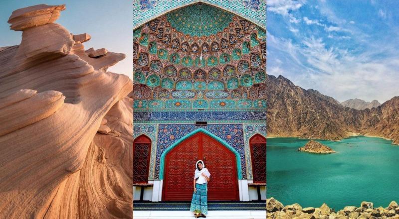 photogenic sites UAE