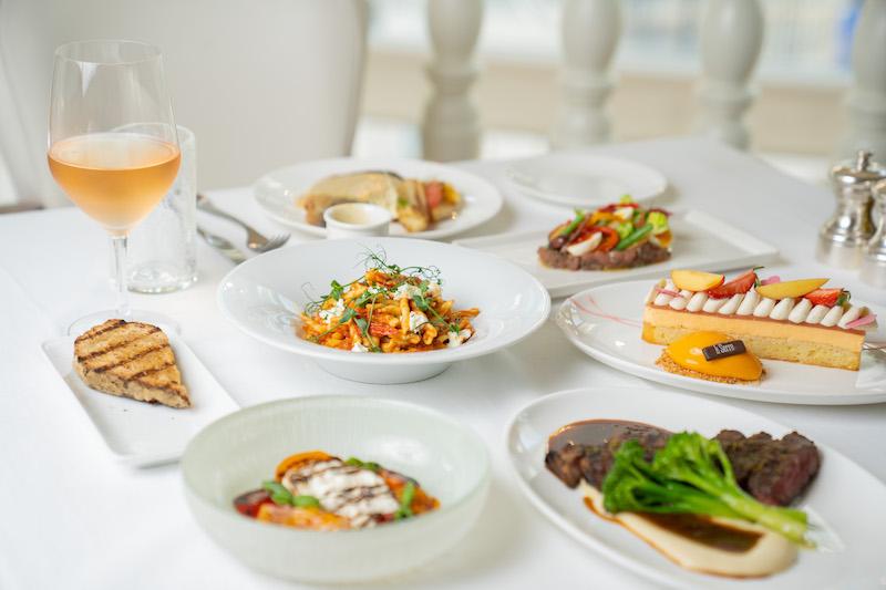 Prix fixe lunch, La Serre 7
