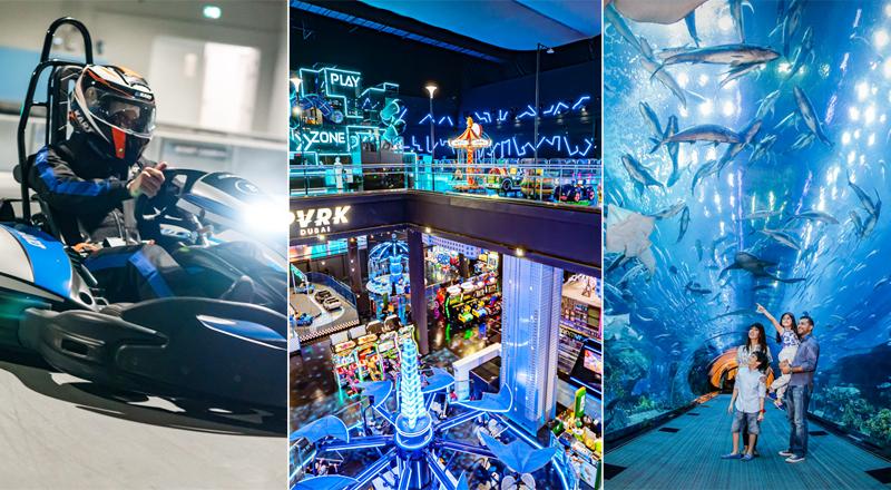 Top Dubai attractions Dubai Mall