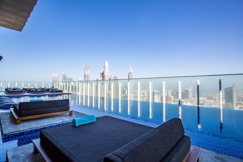paros rooftop pool Dubai