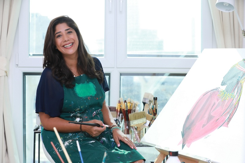 Artist Amrita Sethi to hold a masterclass on Wednesday 1 April through Instagram
