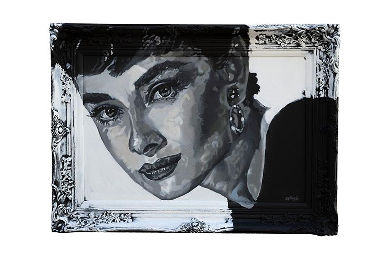 Audrey Hepburn by Paparazzi