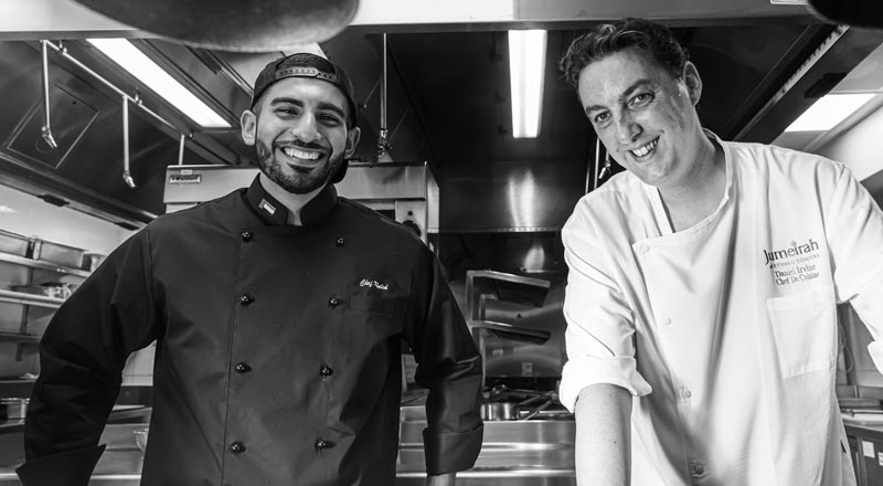 Abu Dhabi posts, chef Khaled Al Saadi, Daniel Irvine, Ray's Grill, Jumeirah at Etihad Towers