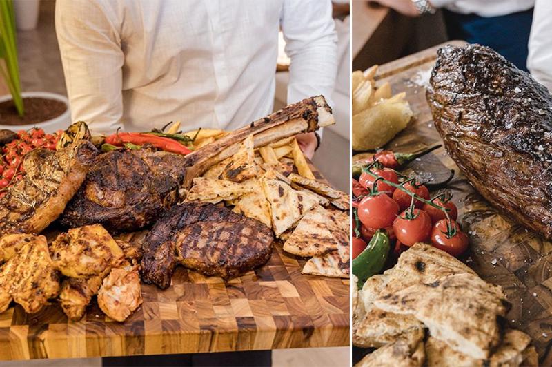 Nammos Dubai meat platters