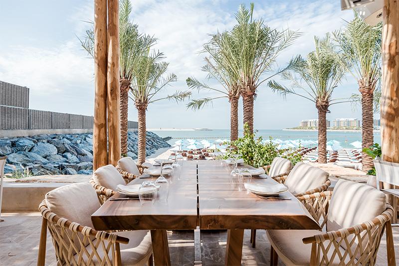 Nammos Dubai terrace