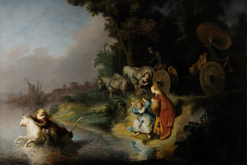 The Abduction of Europa Rembrandt