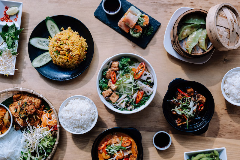 Vietnamese Foodies offers a range of paleo, gluten- and dairy - free, and Vegan options