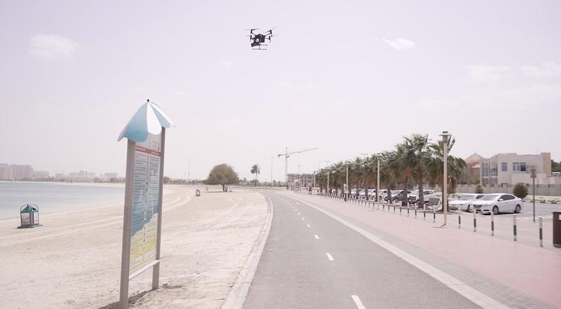 dubai drones coronavirus