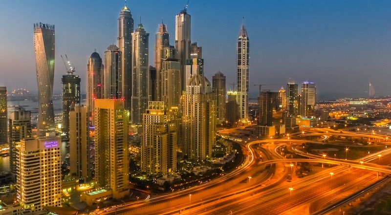 nightly curfew in dubai