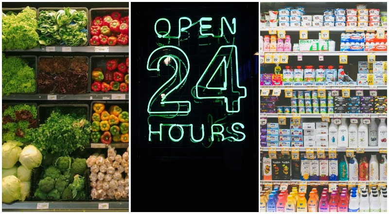 supermarkets UAE 24hours