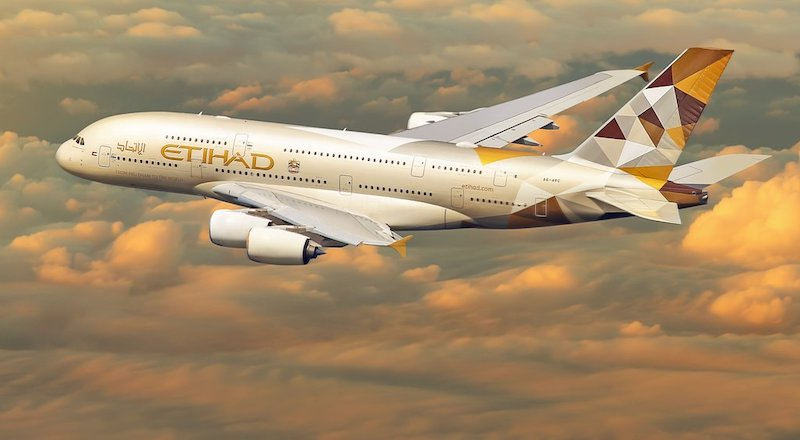 Etihad repatriation flights