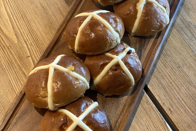 London Dairy Cafe_Hot cross buns