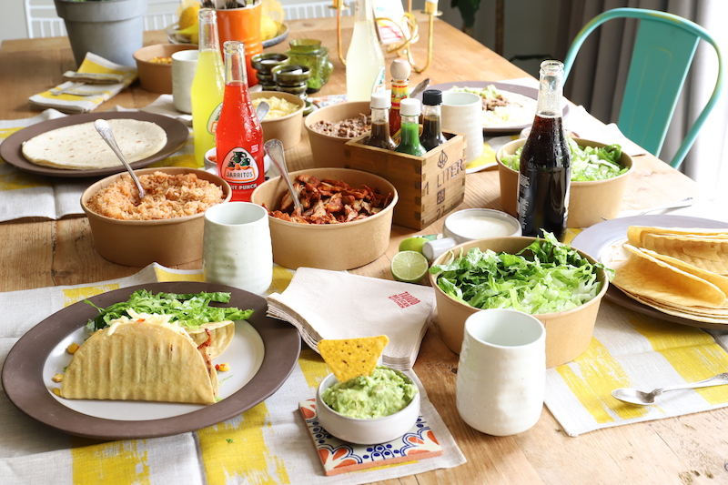 Taquado Family Feast at home