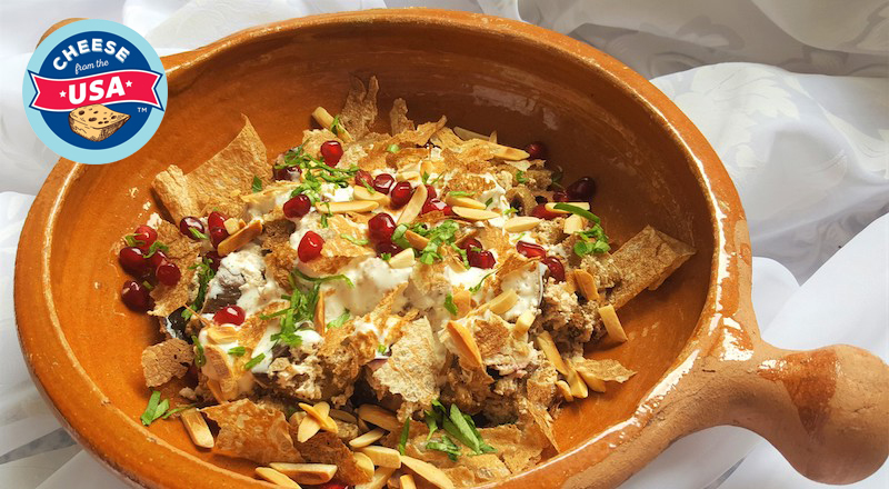 Fatteh recipe US cheese