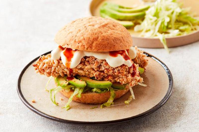 Gordan Ramsey chicken burger
