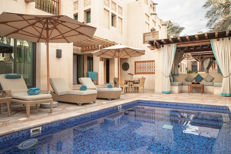 Jumeirah Dar Al Masyaf - Two Bedroom Malakiya Villa - Swimming Pool